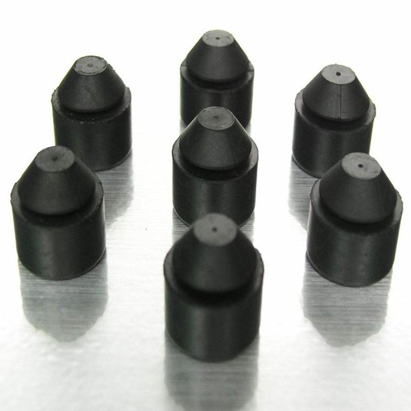 厂家直销定制橡胶塞各种型号锥形