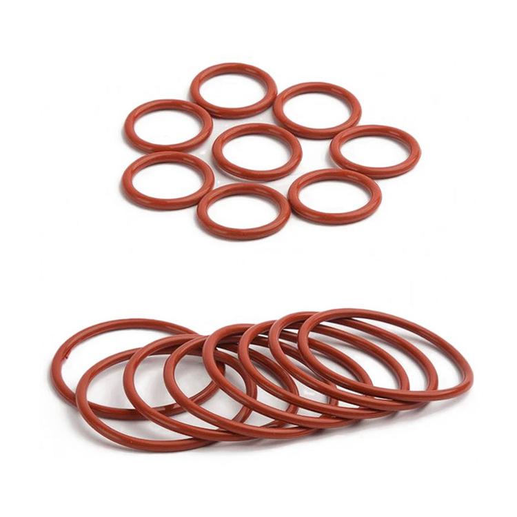 规格定制橡胶密封圈O型圈 硅氟胶密封圈垫 橡胶异形件来样定制