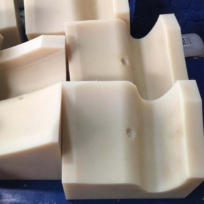 异形尼龙塑料制品来图加工定制尼龙异形件 机械耐磨尼龙件垫块